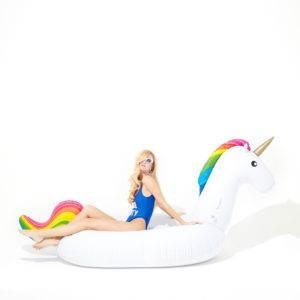 inflatable unicorn pool float hk