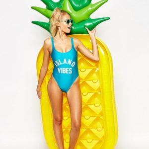 inflatable pineapple pool float hk菠蘿浮床