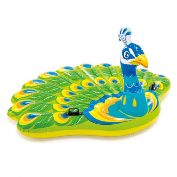 inflatable peacoak pool float hk