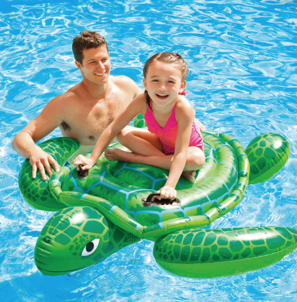 Intex Kids turtle ride-on float hk