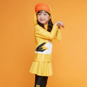 Barrel Kids Buddy Rashguard-YELLOW hk