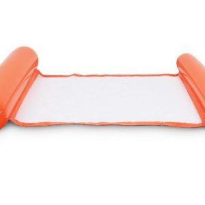 Orange Inflatable pool floating cushion mat -彩色充氣浮墊