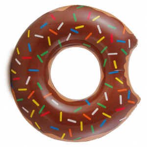Chocolate Donut Float Ring