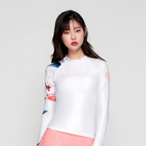 Barrel Womens Odd Rashguard-WHITE hk