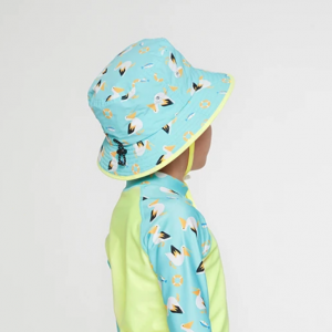 Barrel Kids Pattern Bucket Hat-PALLY