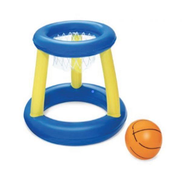 inflatable basketball hoop