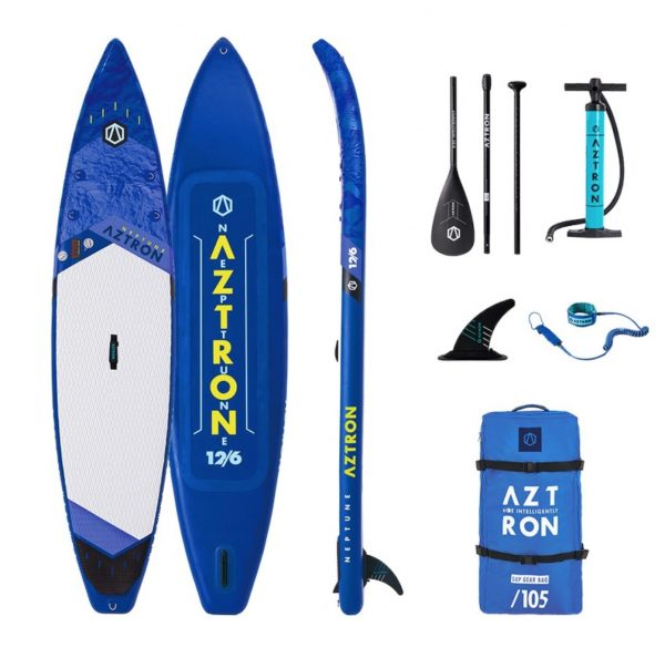 """Aztron 12'6"""" NEPTUNE Inflatable Touring Board"""