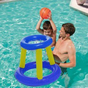 inflatable basketball hoop - 水上沙灘充氣球