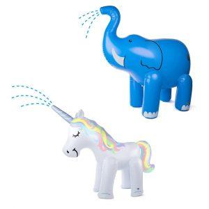 Giant Inflatable Unicorn Elephant Sprinkler