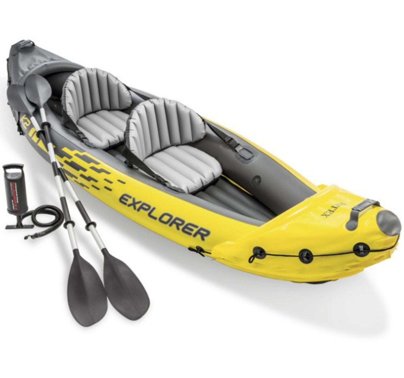 Intex Explorer K2 Inflatable Kayak Package