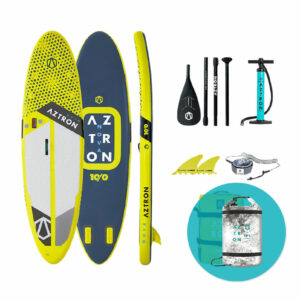 Aztron-10′-NOVA-COMPACT-All-Round-SUP-Board-Package---Free-Dry-Bag